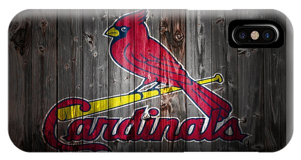 Grapefruit League iPhone Case - The St Louis Cardinals 2b by Brian Reaves