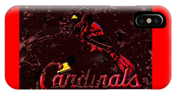 Grapefruit League iPhone Case - The St Louis Cardinals 6a by Brian Reaves