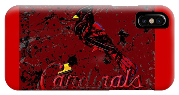 Grapefruit League iPhone Case - The St Louis Cardinals 6b by Brian Reaves
