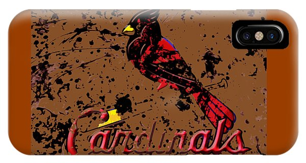Grapefruit League iPhone Case - The St Louis Cardinals 6c by Brian Reaves