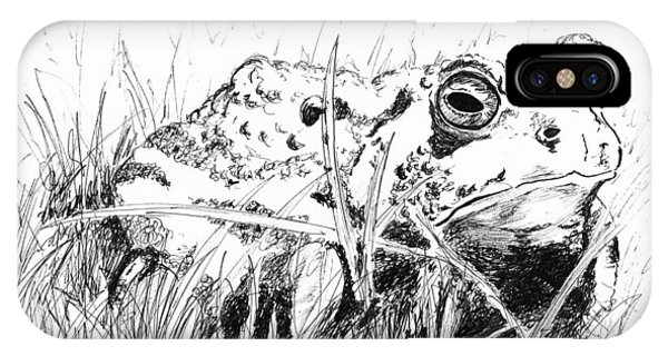 The Stalwart Old Toad IPhone Case