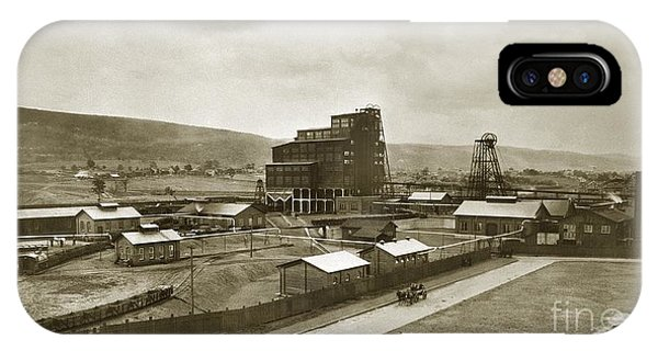 The Stanton Colliery Empire St. The Heights Wilkes Barre Pa Early 1900s IPhone Case