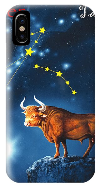 iPhone Case - The Star Taurus by Johannes Margreiter