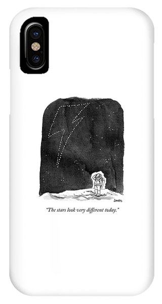 The Stars Look Very Different Today IPhone Case