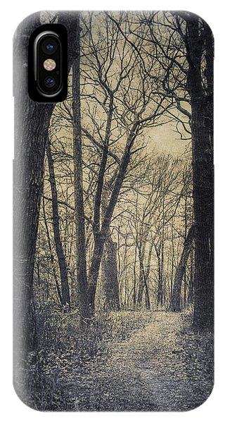 Woods iPhone Case - The Starting Point by Scott Norris