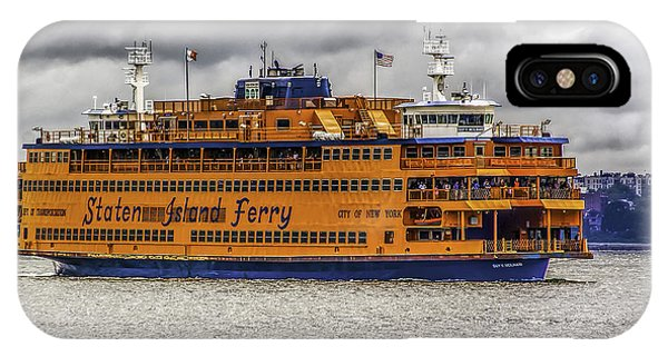 The Staten Island Ferry IPhone Case