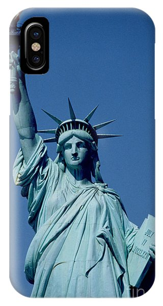 Statue Of Liberty iPhone Case - The Statue Of Liberty by American School