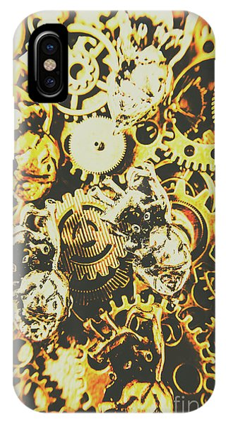 Metal iPhone Case - The Steampunk Heart Design by Jorgo Photography - Wall Art Gallery