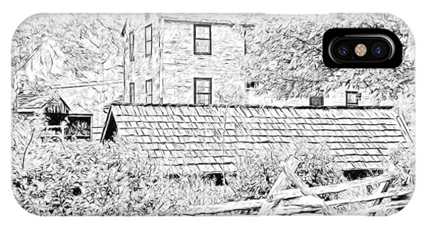 The Stone House At The Oliver Miller Homestead IPhone Case