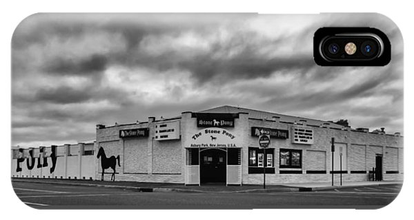 The Stone Pony Asbury Park New Jersey Black And White IPhone Case
