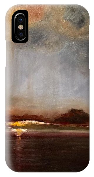 iPhone Case - The Storm by Karen Langley