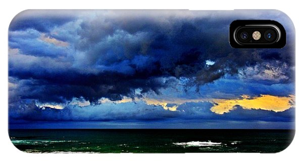 iPhone Case - The Storm Roles In by Blair Stuart