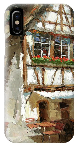 The Streets Of Strasbourg IPhone Case