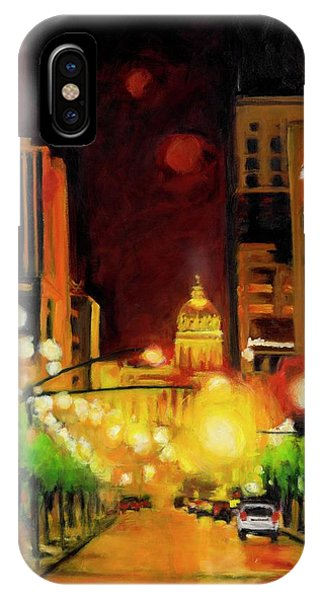 The Streets Run With Crimson And Gold IPhone Case