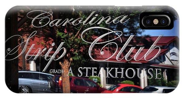 Culture Club iPhone Case - The Strip Club by Skip Willits