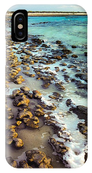IPhone Case featuring the photograph The Stromatolite Family Enjoying Its 1277500000000th Sunset by T Brian Jones