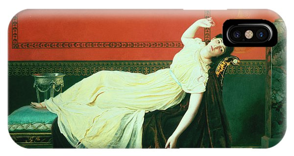 Chaise iPhone Case - The Studio by Sophie Anderson