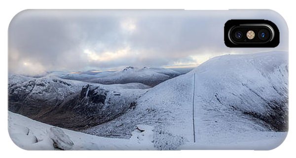 The Summit And Down The Wall IPhone Case