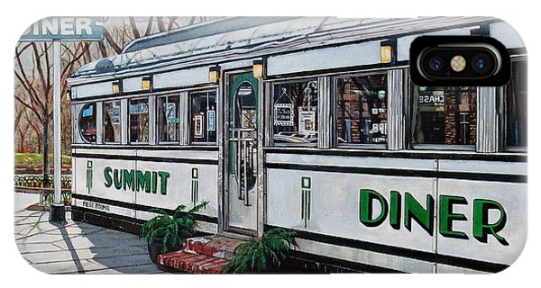 The Summit Diner IPhone Case