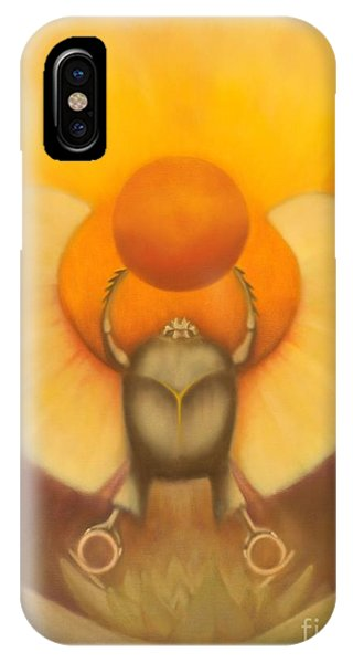 The Sun At Night IPhone Case