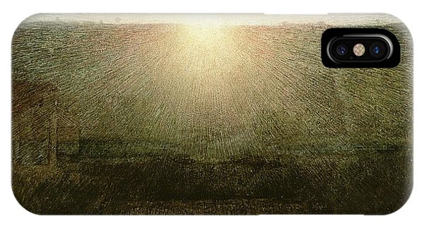 Sunrise iPhone Case - The Sun by Giuseppe Pellizza da Volpedo
