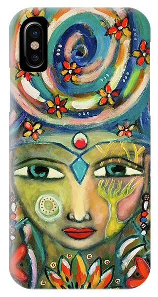 The Sun Goddess  IPhone Case