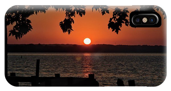 IPhone Case featuring the photograph The Sun Rises Over The Bay by Mark Dodd