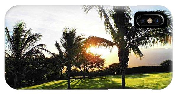 The Sun Rising Behind Haleakala IPhone Case