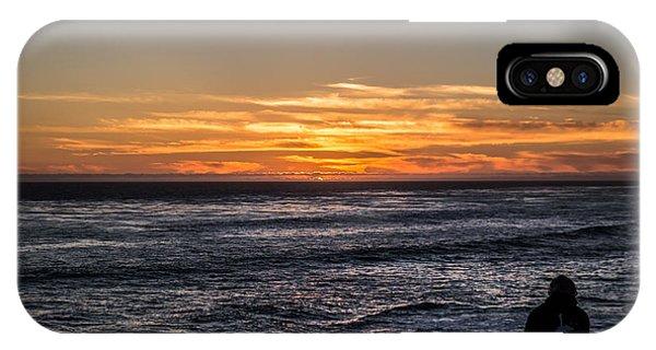 The Sun Says Goodbye IPhone Case