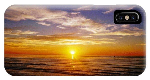 The Sun Says Goodnight IPhone Case