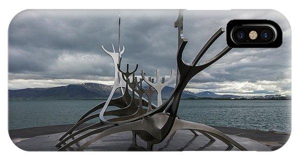 The Sun Voyager, Reykjavik, Iceland IPhone Case