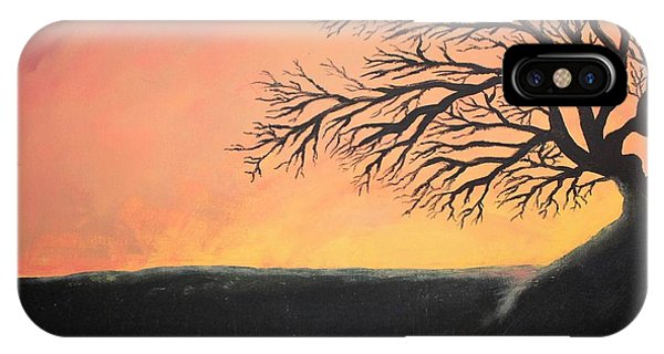 The Sun Was Set IPhone Case