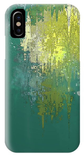IPhone Case featuring the digital art The Sunken Cathedral by Gina Harrison