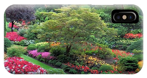The Sunken Garden At Dusk IPhone Case
