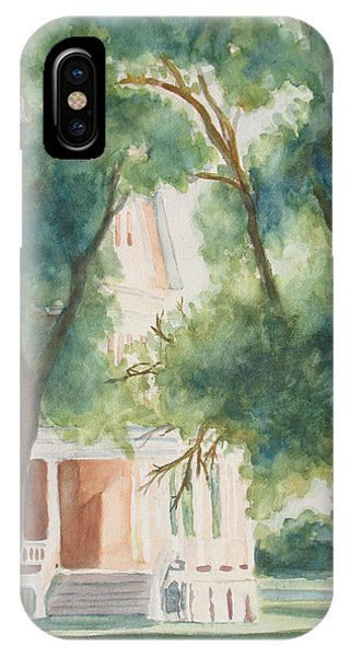 Porch iPhone Case - The Sunlit Porch by Jenny Armitage