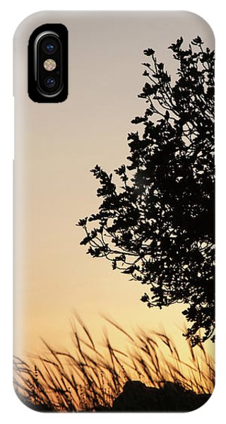 Sunset On The Hill IPhone Case