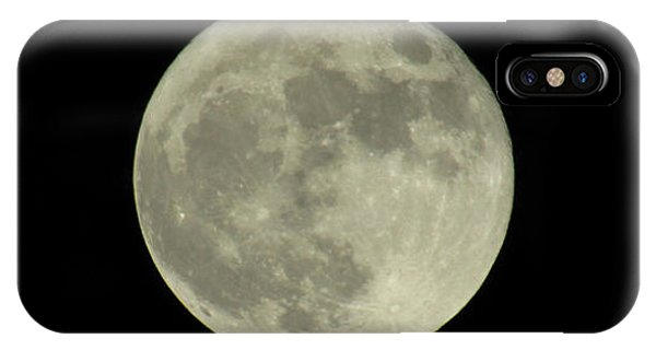 The Super Moon 3 IPhone Case