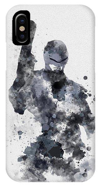 The Superhuman Cyborg IPhone Case