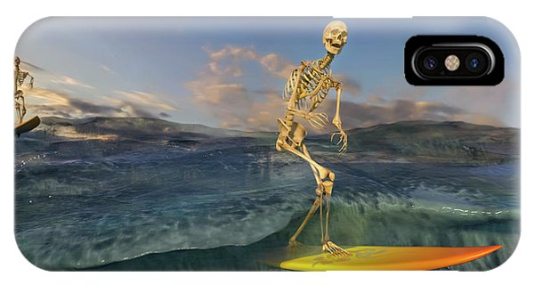 Human Interest iPhone Case - The Surf Roles by Betsy Knapp