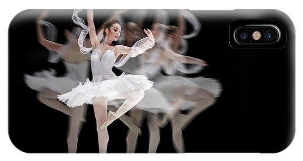 IPhone Case featuring the photograph The Swan Ballet Dancer by Dimitar Hristov