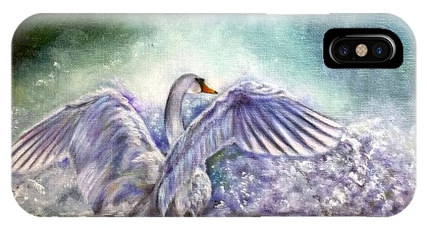 The Swan's Song IPhone Case