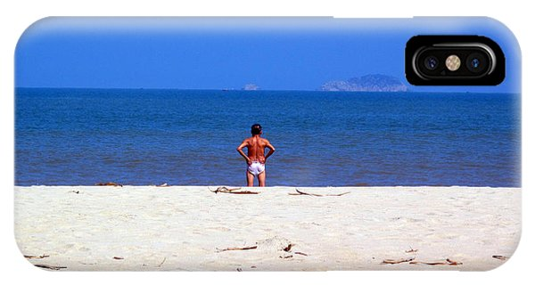 The Swimmer IPhone Case