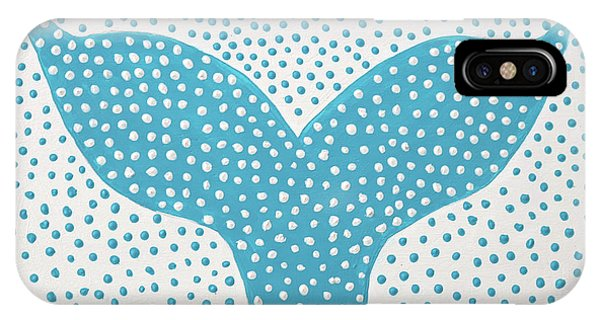 The Tail Of The Dotted Whale IPhone Case