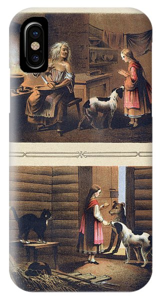 The Tale Of Baba Yaga And The Evil Stepmother IPhone Case