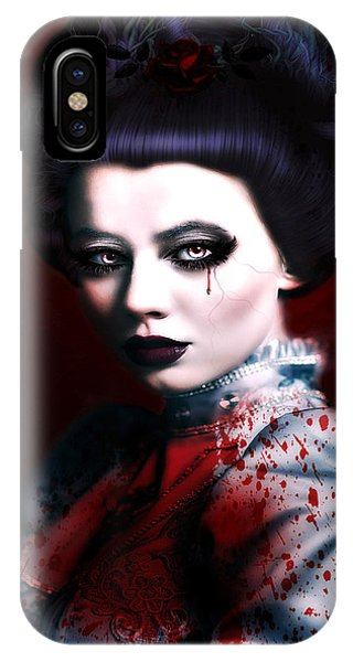 Gothic iPhone Case - The Tale Of Lizze by G Berry