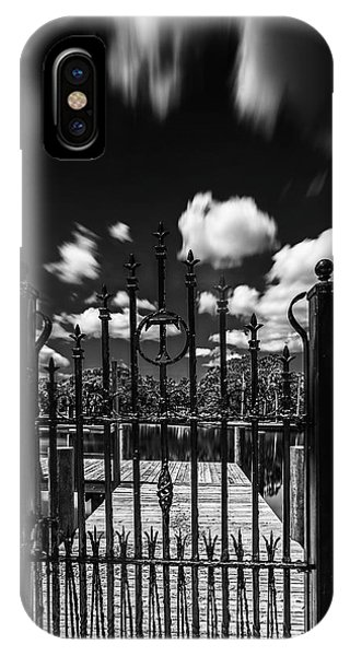 Ironwork iPhone Case - The Tee Gate  by Marvin Spates