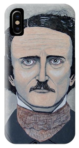 The Telltale Heart Of Edgar Allen Poe. IPhone Case