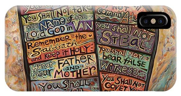 The Ten Commandments IPhone Case