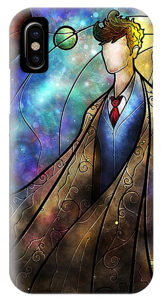 Doctor iPhone Case - The Tenth by Mandie Manzano