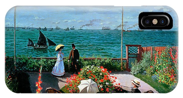 The Terrace At Sainte Adresse IPhone Case